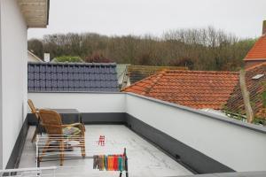 Een balkon of terras bij Appartementen Beatrix