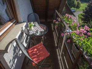 A balcony or terrace at Kornbauernhof