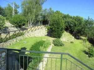 Widok na ogród z obiektu Ferienwohnung Finale Ligure 285S