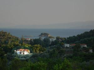 A bird's-eye view of Hotel Zachos