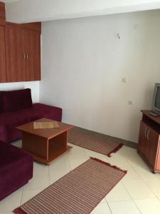 A seating area at Vila Idila