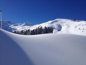 L'établissement Gite De Montagne Les Sureaux en hiver