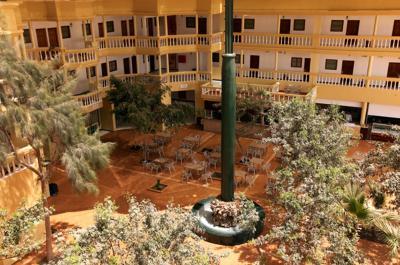 Hotel barbas marokko aousserd - Tuin marokkaans terras ...