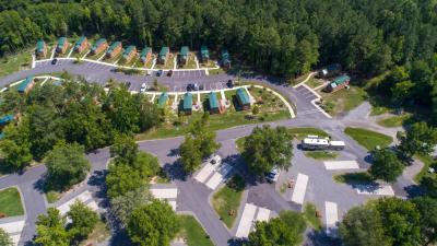 Campground Richmond North / Kings Dominion KOA, Doswell, VA