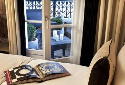Les jardins de la villa spa slh paris including for Les jardins de la villa paris tripadvisor