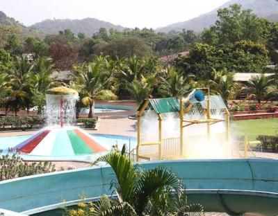Panoramic resort panvel karn la india for Elaborate swimming pools