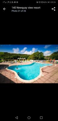 Mr Pearce Newquay View Resort Oakley 6 birth caravan, Saint Columb