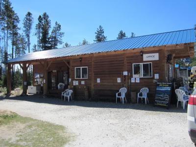 Cabins amp campgrounds blue river canada booking com