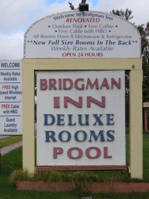 Image Of The Property Bridgman Inn Offers Accommodations