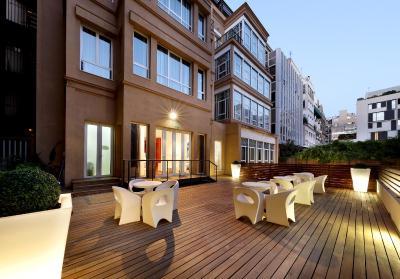 Hotel eurostars bcn design spanien barcelona for Design hotels spanien
