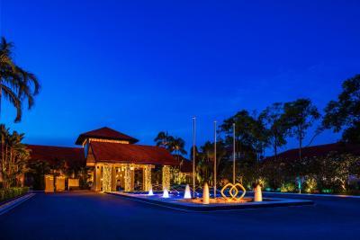 Sofitel singapore sentosa resort singapore for Villa du jardin singapore