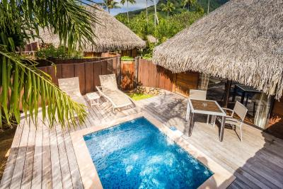 Manava beach resort spa moorea polyn sie fran aise for Garden pool bungalow