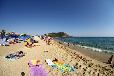 Песок на пляже Клеопатры