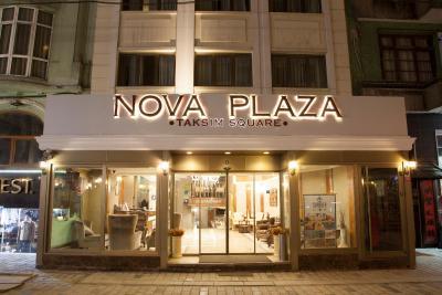 Nova plaza taksim square by hotelistan istanbul updated for Al majed hotel istanbul