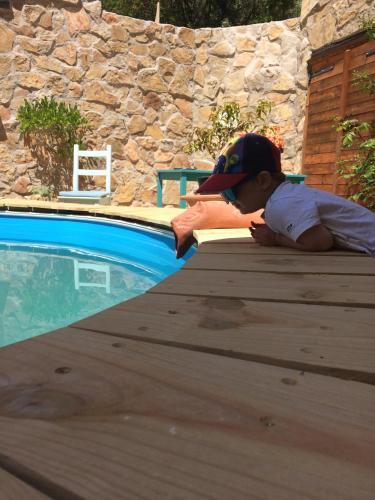The swimming pool at or near Nuestra Posada