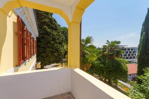 A balcony or terrace at Villa Roma