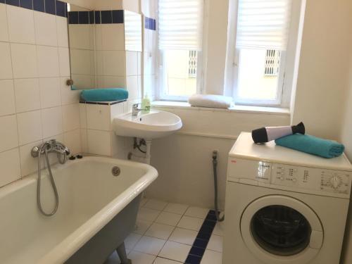 A bathroom at 2bedroom Flatel near Letna Park