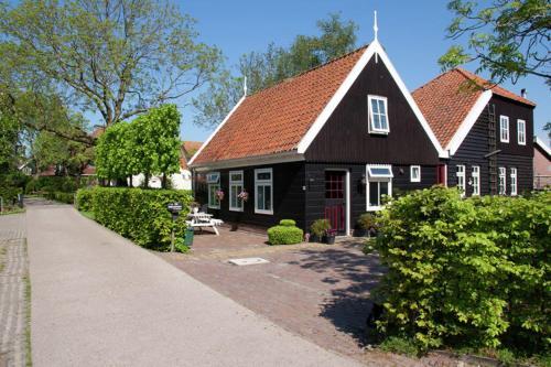 Ferienhaus voorhuisje op eiland de woude niederlande de woude