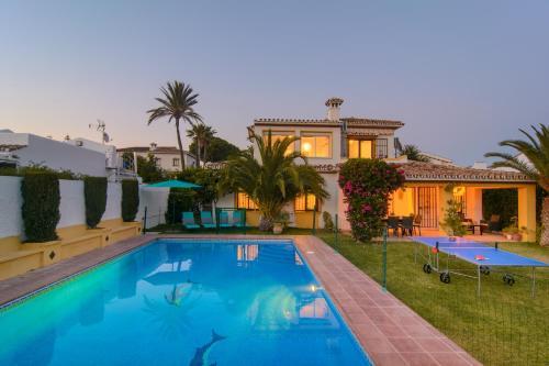 Typical beach house Las Chapas Playa