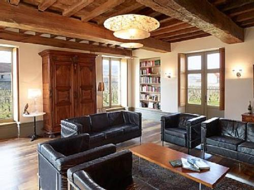 A seating area at Le Vieux Chateau