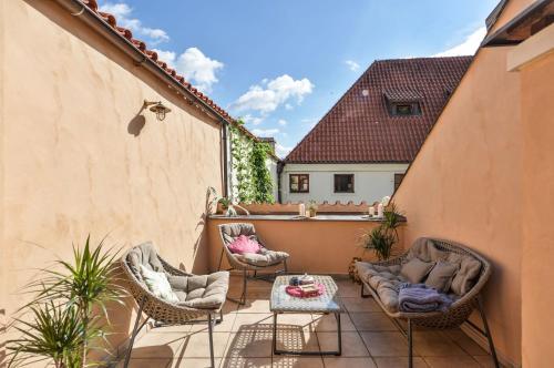 Luxury Historical Villa Prague Castle