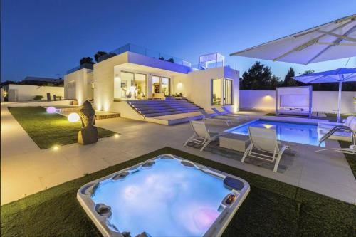 White Island Villa