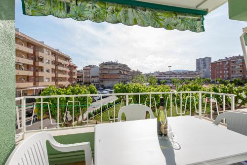 A balcony or terrace at Ref. 192. Apart. Puerto Rico