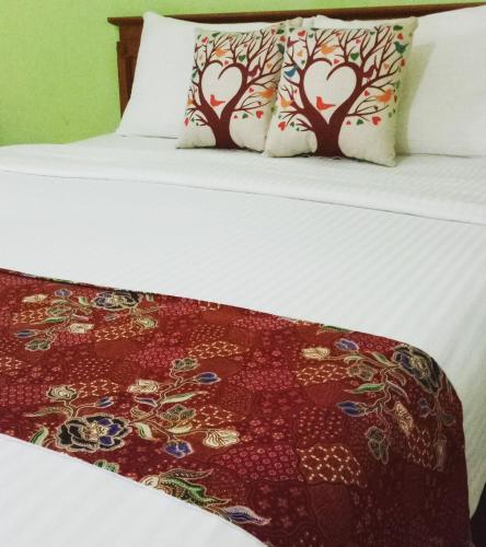 Cama o camas de una habitación en I & R Tasik Anak Motel