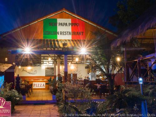 New Papa Pippo Italian Restaurant & Bungalows