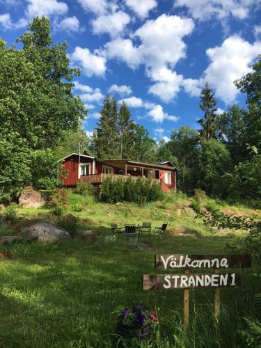 Vacation house next to Lake Vänern