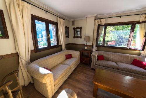 Zona d'estar a Aparthotel Sarrato
