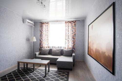 Гостиная зона в Apartment Rantie na Naberezhnoy