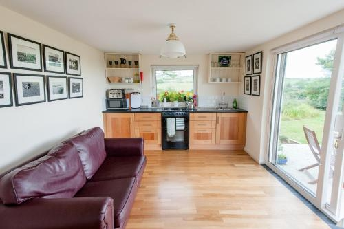 A kitchen or kitchenette at The Wild Atlantic Hideaway