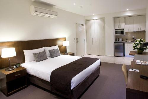 Lova arba lovos apgyvendinimo įstaigoje Quest Glen Waverley