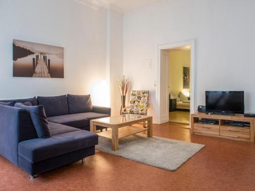 A seating area at Grosses Apartment Janssen