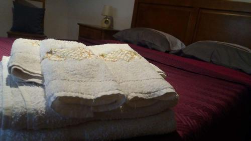 A bed or beds in a room at Apartamento Azibo - Macedo de Cavaleiros