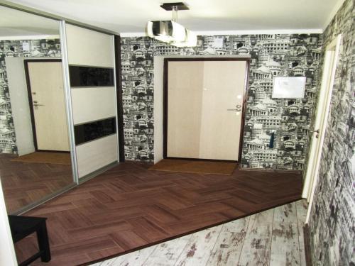 Ванная комната в Apartment Revolutsionnaya 68-54
