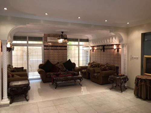 The lobby or reception area at Romance Chalet
