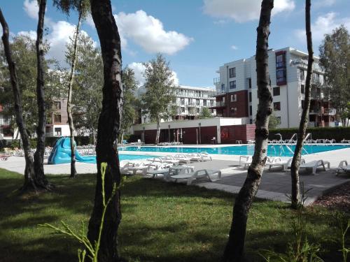 The swimming pool at or near Apartament Morskie Polanki