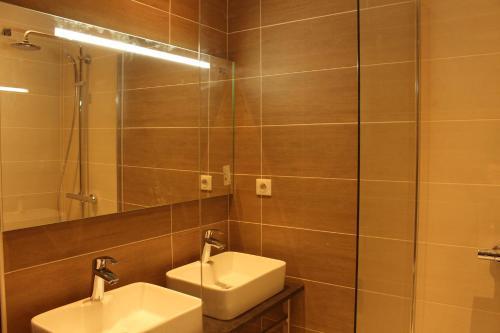 A bathroom at Les Carlines II