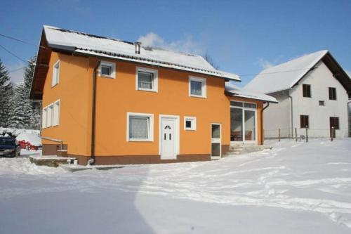 Apartments Nino during the winter