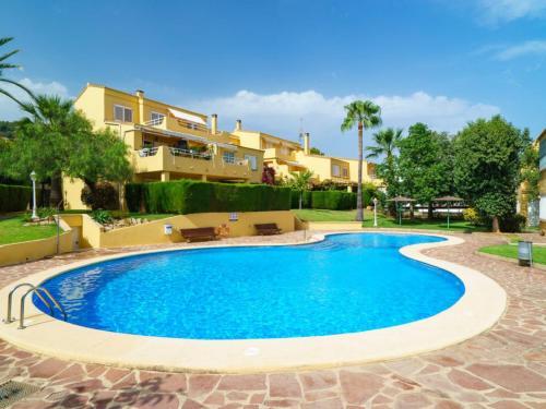 apartamento descanso perfecto jardin/piscina