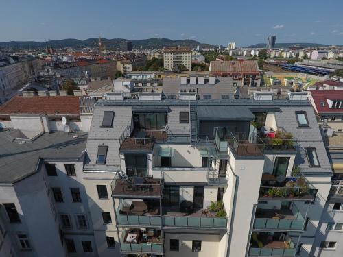 A bird's-eye view of Nadland Apartment Kunzgasse
