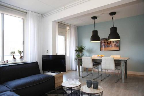 A seating area at Perfect APT in Amsterdam east near City Center