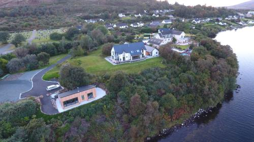 A bird's-eye view of Air an Oir - Skye Self Catering