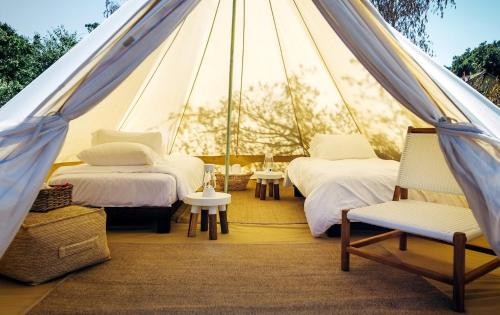 Longuvernhe * Glamping & Breakfast from only 20€pp/pn