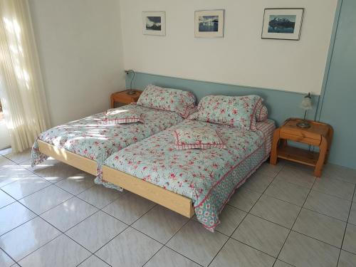 A bed or beds in a room at Casa Sandra