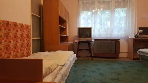 A television and/or entertainment center at Pannónia Vendégház