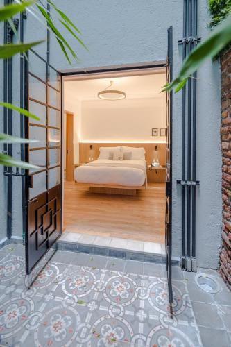Cama o camas de una habitación en Casa Decu