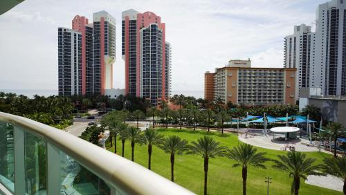 Beautiful furnished 1B/1,5 apt with ocean view!